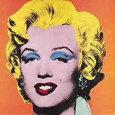 Andy Warhol - Shot Orange Marylin, 1964 - jetzt bestellen auf kunst-fuer-alle.de