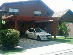 PERGOLAS Y QUINCHOS Carport Plans, Pergola Carport, Outdoor Kitchen Design, Patio Design, Blessed Mother, Curb Appeal, Backyard, Ideas, Duplex House Plans