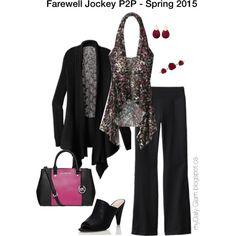 Jockey Person to Person - Spring 2015 - Divine Cardi, Jersey Reversible Wrap, Jersey Pants
