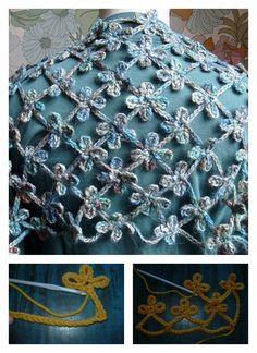 Crochet Clover Scarf Free Pattern