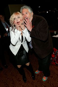Cyndi Lauper And Harvey Fierstein | GRAMMY.com