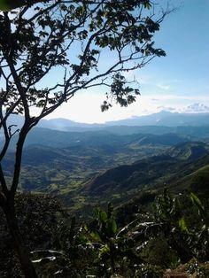Paisaje Andes, Antioquia, Col