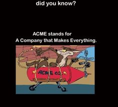 Acme So many questions have been answered for me!!!