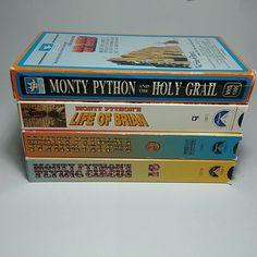 Pick One VHS or More: Rare Monty Python VHS Tapes in Original Case Monty Python, Vhs Tapes, Pick One, The Originals, Ebay, Movies, Films, Film Books, Movie
