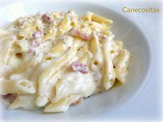 Cremositos y bien rápidos, cocinando con thermomix. Cambia la nata por queso cremoso y disfruta de ellos.