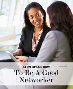 What Good Networkers Do… and Don't Do #networking #advice