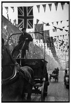 Henri Cartier-Bresson. Coronation of George VI. 12th May, 1937.