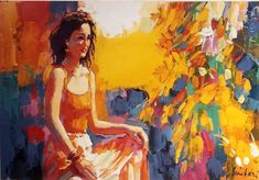 The way the light catches her hair. Nicola Simbari is an absolute master of turning brushstrokes into compelling images of real people Brush Strokes, Warm Colors, Real People, Her Hair, Original Paintings, Art Gallery, The Originals, Artist, Image