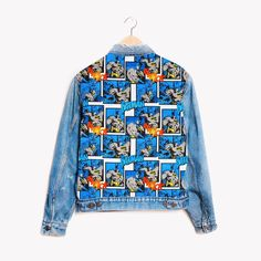 RWDZ x BATMAN DC Comics x Levis Jacket