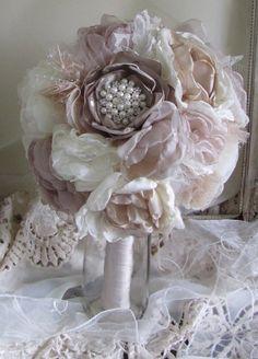 Alternative Bridal Bouquet Rhinestones by BurlapandBlingStudio, $225.00
