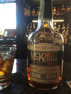 Henry McKenna 10 year Single Barrel. 100 Proof.  Nice oaky nose. Smooth start with high wood taste. Warm but not hot for a high proofer. Nice even finish and smoothness. Solid after burn but again, not overwhelming.