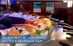 THE OCEANAIRE SEAFOOD ROOM- grand oyster & beverage bar -San Diego