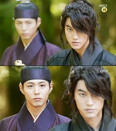 Crown Prince and his body guard - Moonlight Drawn by the Clouds