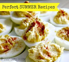 Sunny Simple Life: Perfect Summer Recipes
