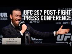 UFC 257: Post-fight Press Conference - YouTube