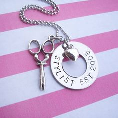Sale+Hand+Stamped+jewelry+Stylist+Cosmetologist+by+feliciahowell1,+$20.00