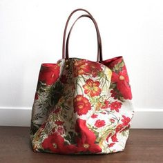 e-Store - 2019 Duffle, Diy Bags Purses, Carpet Bag, Linen Bag, Red Bags, Fabric Bags, Cotton Bag, Satchel Handbags, Handmade Bags