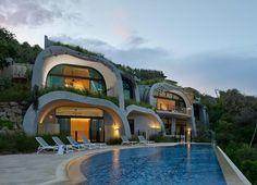 LinkedIn Sunshine Coast, Roof Gardens, Construction, Australia, Mansions, House Styles, Home, Gardens, Decks
