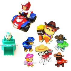 Online Shop Rushed Action Figures Anime Puppy Patrol Dog Patrulla Canina Toys Ryder Everest Patrol Puppy Toys For Children Boy Girl Aliexpress Mobile