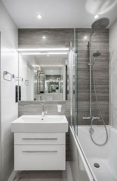 Cool 45 Amazing Home Bathroom Remodel Ideas. More at https://trendecorist.com/2018/05/19/45-amazing-home-bathroom-remodel-ideas/
