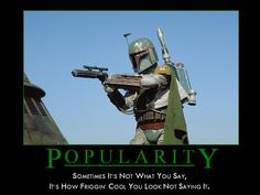 Boba Fett, the first of his name, son of Jengo, slayer of the wicked, blaster for hire