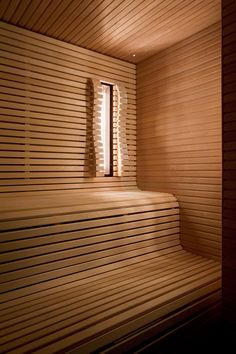 Private sauna in The Netherlands. Design: Piet Boon // Realization: 4SeasonssSpa (www.4seasonsspa-pro.com)