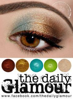 Beautiful Oil Slick by The Daily Glamour Neutral Eye Makeup, Bright Eye Makeup, Subtle Makeup, Gold Makeup, Smokey Eye Makeup, Sexy Makeup, Pretty Makeup, Beauty Makeup, Makeup Looks