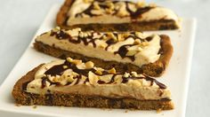 Serve your sweethearts this divine chocolate-peanut butter combo.  They'll love you for it!