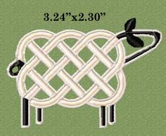 celtic knot sheep designs | Misty Mountain Embroidery Designs, Machine Embroidery