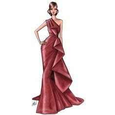 Spanish fashion illustrator Sandra Suy | DENKI-MIRAI, Japanese art licensing agency
