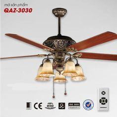 Quạt trần đèn trang trí cao cấp Mountain Air QAZ-3030