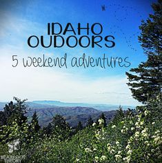 Think Idaho is nothing but potatoes and hicks? Think again!   #Idaho is one special place. A place you can soak in hot springs, raft epic whitewater, and explore jagged peaks all in one weekend.   Here's 5 outdoor #adventures that will put Idaho on your radar as a vacation destination!   http://bearfoottheory.com/the-wild-west/outdoor-idaho-adventures/