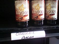 Chocolate bacon root beer