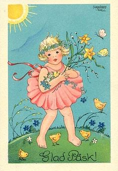 Some Swedes send each other 'Glad Påsk'  cards at Easter, although it does seem to be a dying tradition among the younger generations.