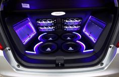 Custom Audio Sound System Upgrade | Tint World Car Audio Video Systems - more amazing cars here: themotolovers.com