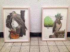 Gerda Ten Thije, 2 collages  coderood.co 27 juni 2015