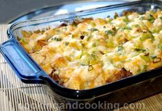 Spicy Potato and Chicken Casserole Recipe