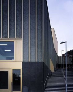 Centre for Contemporary Arts Nottingham    Design: Caruso St John Architects