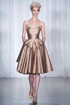 Zac Posen, New York, Spring 2014