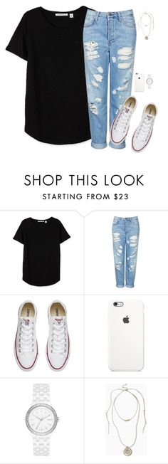 Untitled #228 by sing-into-life on Polyvore featuring Topshop, Converse, DKNY and Torrid