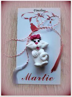 Brosa pisica Minnie Mouse, Mac, Christmas Ornaments, Holiday Decor, Blog, Fimo, Christmas Jewelry, Blogging, Christmas Decorations