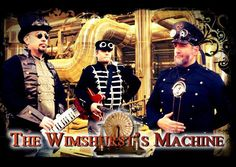 Check out The Wimshurst's Machine on ReverbNation