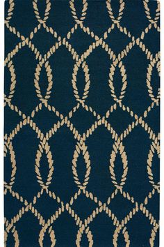 Intertwine II Area Rug - Wool Rug - Area Rug | HomeDecorators.com    for under the kitchen table