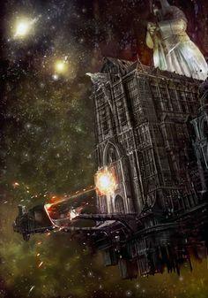 Gothic battleship 40k Battlefleet gothic, Warhammer 40k