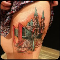 followthecolours victor montaghini 014 #tattoofriday   Victor Montaghini