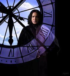 """severus-snape-my-eternal-prince: """" Artwork by AYURI. """""""