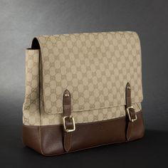 GUCCI. Beige canvas logo handbag (a repin favourite of  www.vipfashionaustralia.com ) 20796f31233