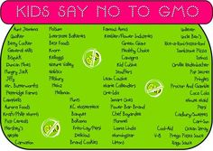 GMO brands :(  Dang, I'm going to have to source my food from outside the USA......Europe outlawed GM Food, we should too!  At the least label it.