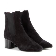 Isabel Marant - Exclusivité mytheresa.com : Bottines en daim Danae - Inspirées des Chelsea boots, ces bottines en daim noir sont signées Isabel Marant. Dotées d'un talon bloc et de quartiers élastiqués, elles offrent un ajustement parfait et une démarche assurée. À porter avec vos jeans slim cet automne. En vente exclusivement sur mytheresa.com. seen @ www.mytheresa.com