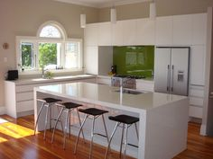 White Kitchen No Handles luca matt white kitchen | kitchens and barn kitchen